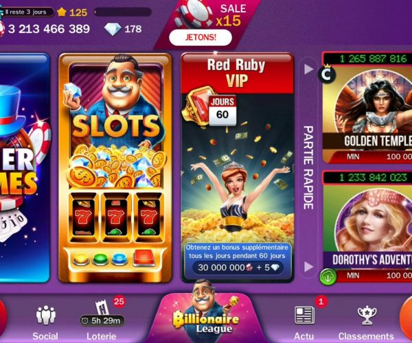 Casino Huuuge : présentation de ce casino social